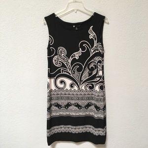 Carol Little Black & White Dress